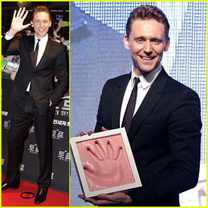 Tom Hiddleston: 'Thor: The Dark World' South Korea Premiere!