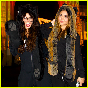 Vanessa Hudgens: Halloween Horror Nights with Stella!