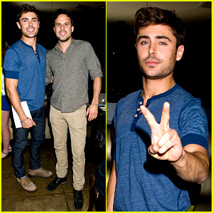Zac Efron: 'That Awkward Moment' Fan Event Photos!