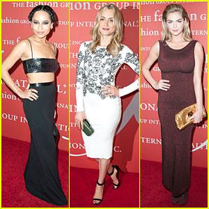 Zoe Kravitz & Kate Upton: Night of Stars Gala 2013