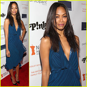 Zoe Saldana: Share Our Strength No Kid Hungry Dinner!