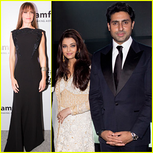 Aishwarya Rai & Hilary Swank: amfAR India Gala!