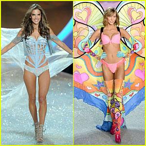 Alessandra Ambrosio & Karlie Kloss - Victoria's Secret Fashion Show 2013