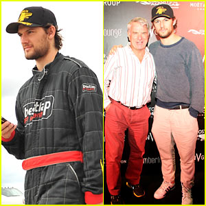 Alex Pettyfer: EnV Group Formula 1 Weekend with Stepdad!