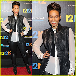 Alicia Keys: '12-12-12' NYC Screening!