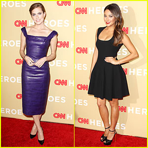 Allison Williams & Shay Mitchell: CNN Heroes' All Star Tribute!