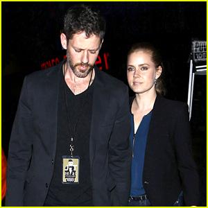 Amy Adams Supports Pal Justin Timberlake at '20/20' Concert!