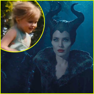 Angelina Jolie: 'Maleficent' Teaser Trailer with Daughter Vivienne!