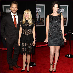 Anna Faris & Chris Pratt: 'Delivery Man' Los Angeles Premiere!