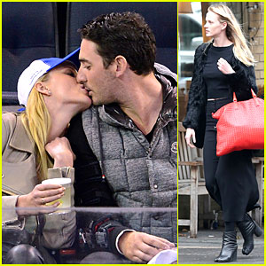 Anne V & Matt Harvey: Kissing at Madison Square Garden!