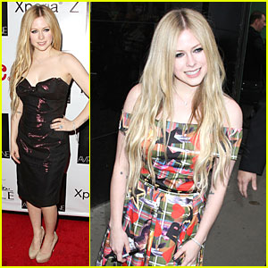 Avril Lavigne: Self Titled Record Release Party!