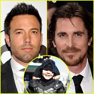 Ben Affleck & Christian Bale Give Praise to 'BatKid'!