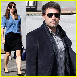 Ben Affleck & Jennifer Garner: Busy Sunday in Santa Monica!