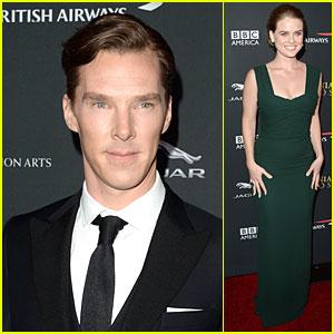 Benedict Cumberbatch & Alice Eve - BAFTA Britannia Awards 2013 Red Carpet