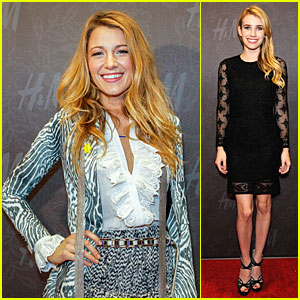 Blake Lively & Emma Roberts: H&M New Orleans Store Opening!