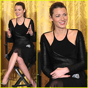 Blake Lively: Film Production Workshop at the White House!