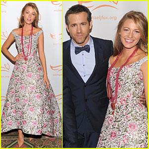 Blake Lively & Ryan Reynolds: Cure Parkinson's Disease Event!