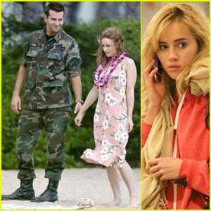 Bradley Cooper Films with Rachel McAdams, Suki Waterhouse Flies at LAX