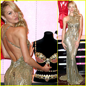 Candice Swanepoel Reveals Victoria's Secret Royal Fantasy Bra!