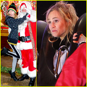 Cara Delevingne & Suki Waterhouse: Winter Wonderland Launch!