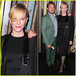 Cate Blanchett: 'Waiting for Godot' Opening Night!