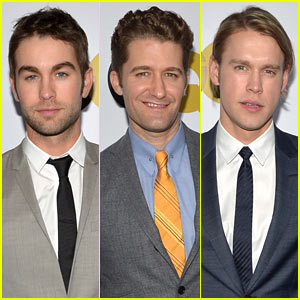 Chace Crawford & Matthew Morrison: GQ Men of the Year Party!