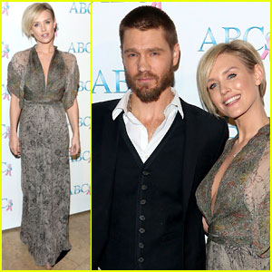 Chad Michael Murray & Nicky Whelan: Talk of The Town Benefit Gala 2013