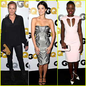 Chelsea Handler & Jaimie Alexander: GQ Men of the Year Party!