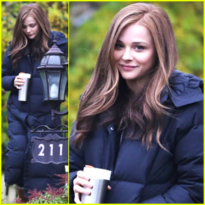 Chloe Moretz: Early Morning Filming for 'If I Stay'