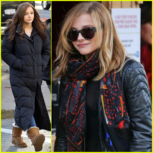 Chloe Moretz: Family Time After 'If I Stay' Filming