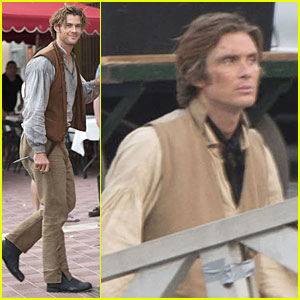 Chris Hemsworth: 'Heart of the Sea' Set with Cillian Murphy!