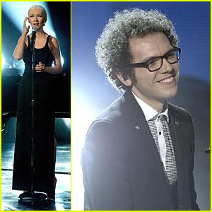 Christina Aguilera & A Great Big World: 'Say Something' AMAs 2013 Performance (Video)