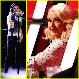 Christina Aguilera: 'Say Something' on 'The Voice' - Watch Now!