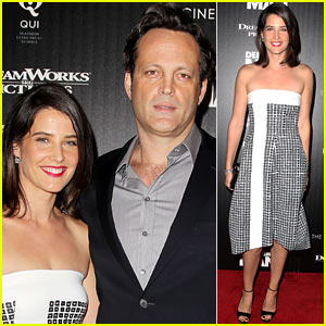 Cobie Smulders: 'Delivery Man' Screening with Vince Vaughn!