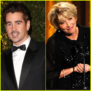 Colin Farrell & Emma Thompson - Governors Awards 2013
