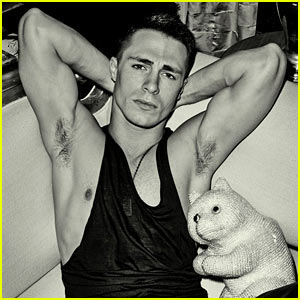 Colton Haynes Flexes His Muscles for 'Flaunt' Feature!