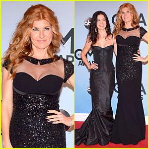 Connie Britton - CMA Awards 2013 Red Carpet