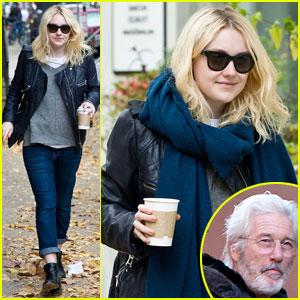 Dakota Fanning & Richard Gere: 'Franny' Filming in Philly