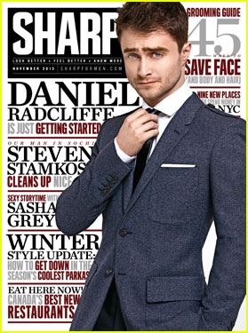 Daniel Radcliffe Covers 'Sharp' Magazine November 2013