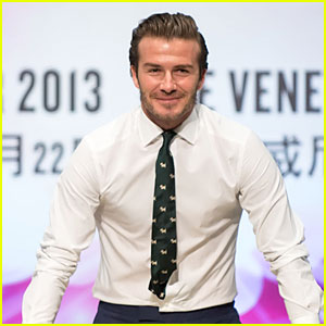 David Beckham: Macau Handprint Ceremony!