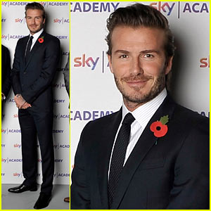 David Beckham Launches Sky Academy in Isleworth!