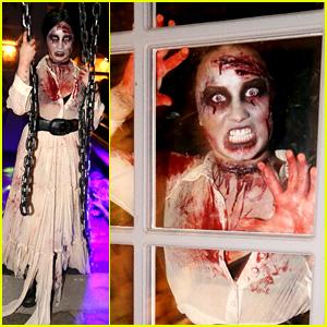 Demi Lovato: Dead Zombie Halloween Costume!