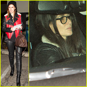 Rumer Willis & Demi Moore Catch Up During Matsuhisa Dinner