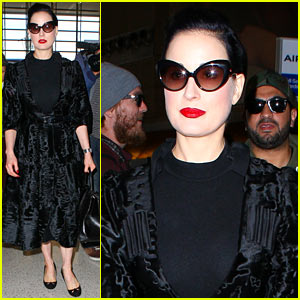 Dita Von Teese Decks Out Her Lair of Seduction with Mood Lights!