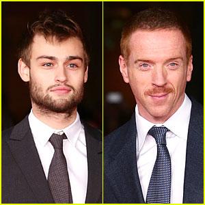 Douglas Booth & Damian Lewis: 'Romeo & Juliet' Rome Premiere!