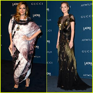 Drew Barrymore & Dakota Johnson - LACMA Art & Film Gala 2013