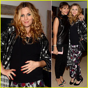Drew Barrymore & Rashida Jones Celebrate Coach! (Exclusive)
