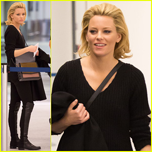 Elizabeth Banks Promotes 'Catching Fire' on 'Jimmy Kimmel'!