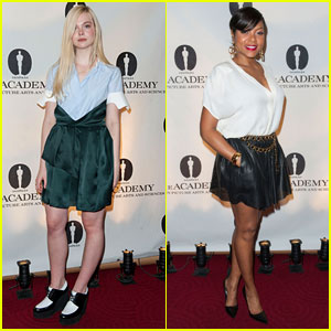 Elle Fanning & Taraji P. Henson: Academy Nicholl Fellowships Screenwriting Awards