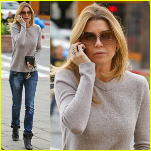 Ellen Pompeo Steps Out After 'Grey's Anatomy' Birthday Wishes!